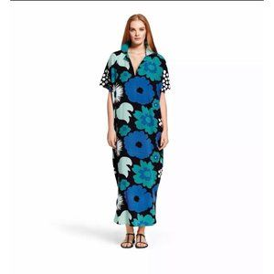 Marimekko for Target Floral Maxi Kaftan Dress